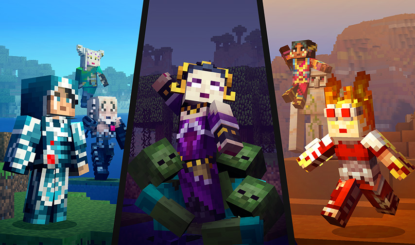 Magic The Gathering Comes To Minecraft Minecraft - Skins para minecraft windows 10 edition beta