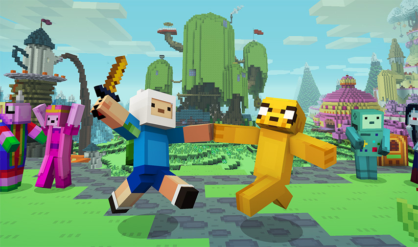 Adventure Time Comes To Minecraft Minecraft - Minecraft online spielen auf pc