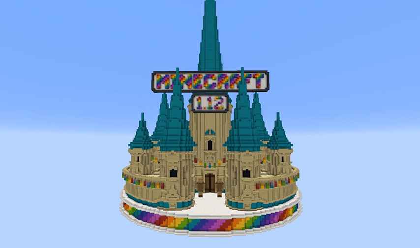 World Of Color Is Released Minecraft