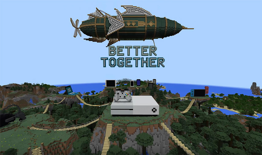 Can I play Minecraft (Xbox360) with someone on a PC? - Quora