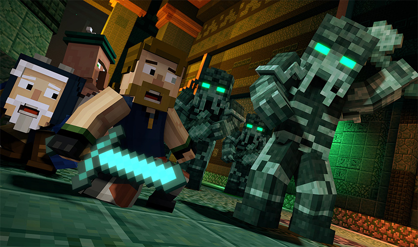 Minecraft: Story Mode - A Telltale Games Series' Episode 4's Epic