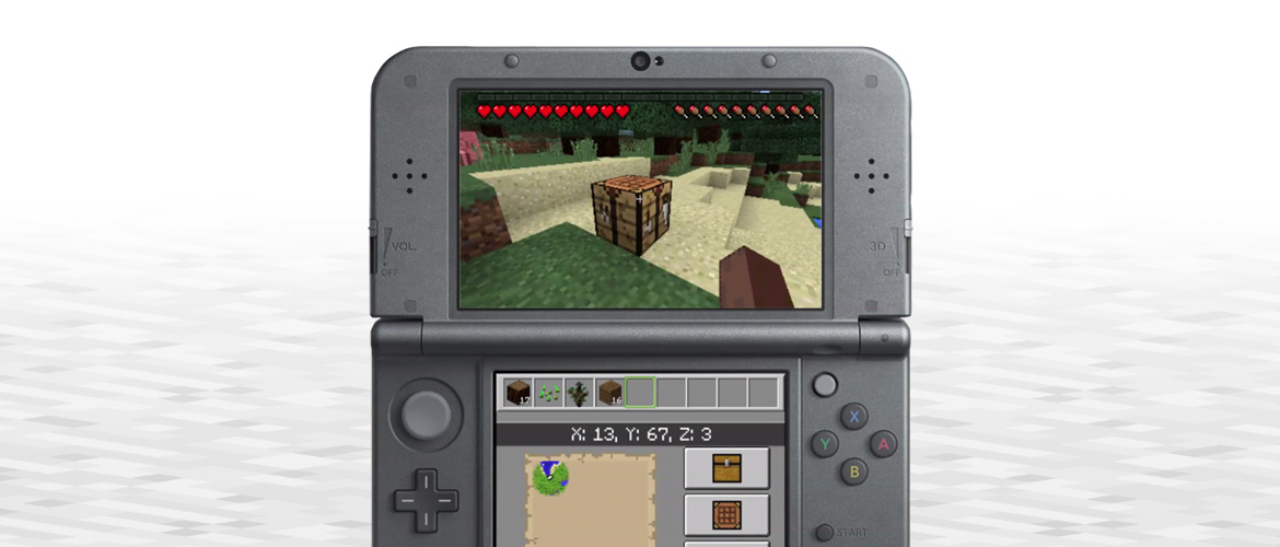 Minecraft on new 3ds minecraft for full functionality of this site it is necessary to enable javascript here are the instructions how to enable javascript in your web browser ccuart Images