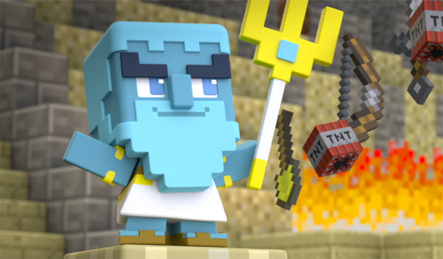 Mattel's Minecraft Miniseries Returns! - Minecraft 2018-03-16 08:55
