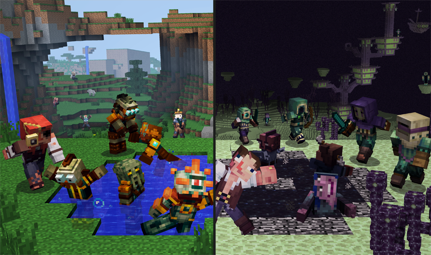 Strangers Skin Pack Out Now Minecraft - Skin para minecraft 1 11 2