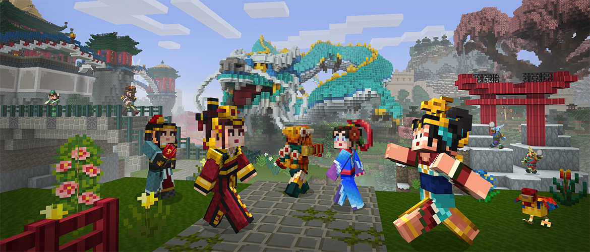 Chinese Myth Now On Pocket And Win 10 Minecraft