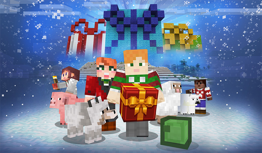 Announcing: 12 Days of Minecraft