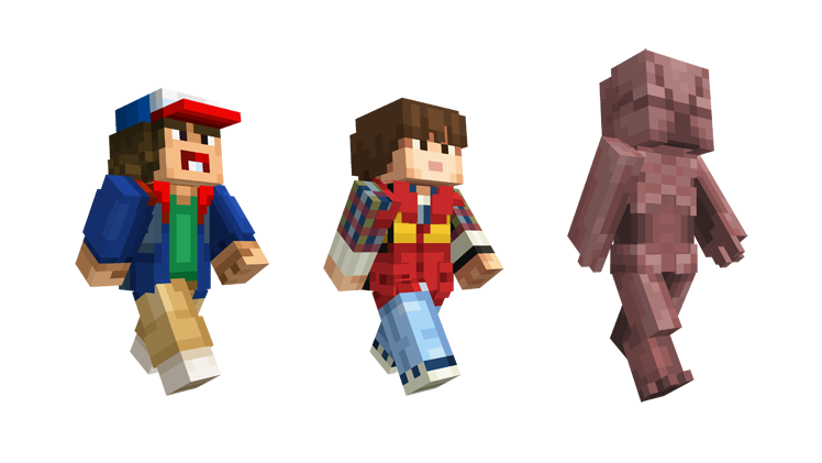 Stranger Things Comes To Minecraft Minecraft - Skin para minecraft android y pc