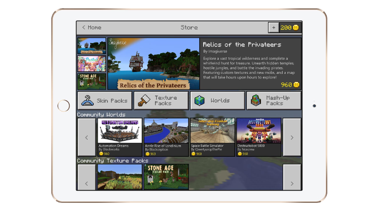 Its Time To Discover Marketplace Minecraft - Skin para minecraft 1 8 browse