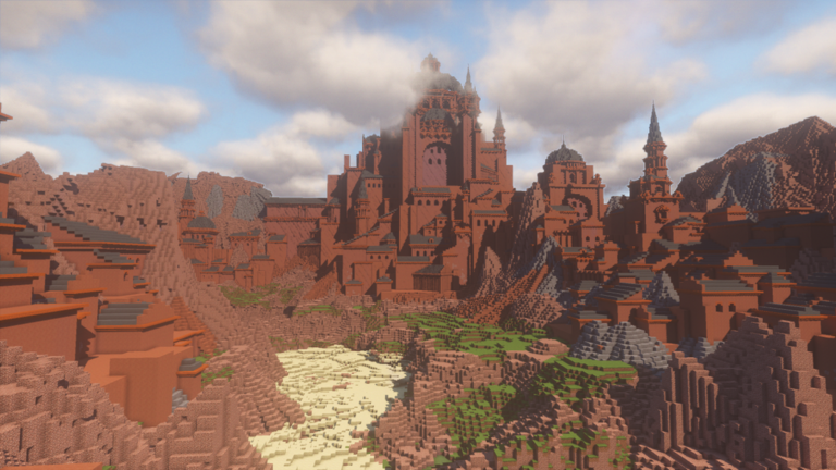 Castle Canyon Minecraft