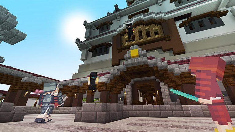 this ones a survival spawn set in a land inspired by japanese warriors of ages past will you sneak into the ninjas temple or smash the - Minecraft Japanese Village