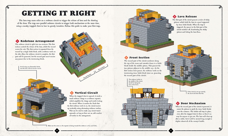 Exploded Builds Medieval Fortress Minecraft