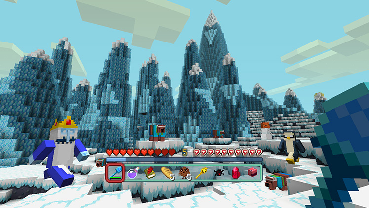 Adventure Time Comes To Minecraft Minecraft - Minecraft dragon spiele