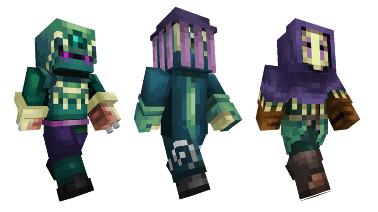 Strangers Skin Pack Out Now Minecraft - Skins minecraft baixar gratis