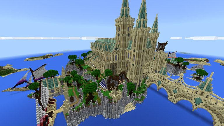 New On Marketplace  Sandspear Castle And Space Dinos