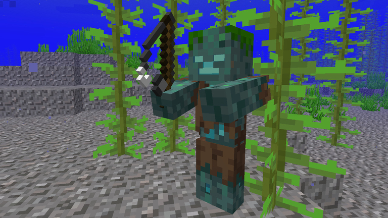 Danger Scary Mob Spotted In Seas Minecraft