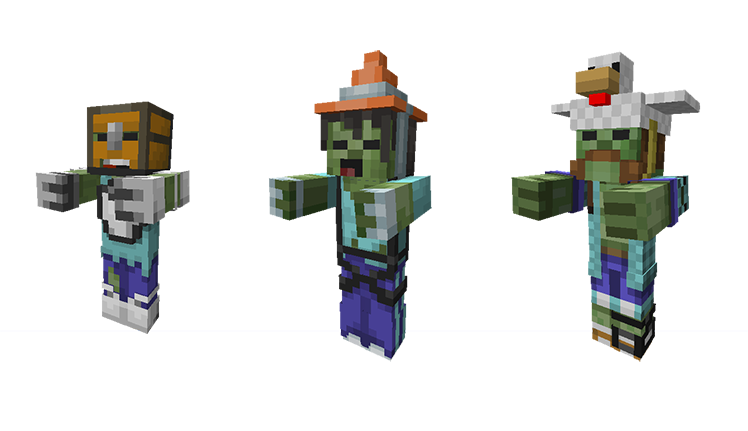 Mini Game Masters Glide Onto Console Minecraft - Zombey skin fur minecraft pe
