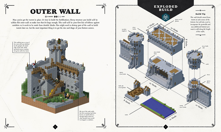 How Do You Build A Medieval Castle In Minecraft