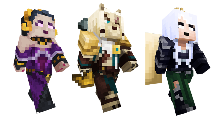 Magic The Gathering Comes To Minecraft Minecraft - Skins minecraft baixar gratis