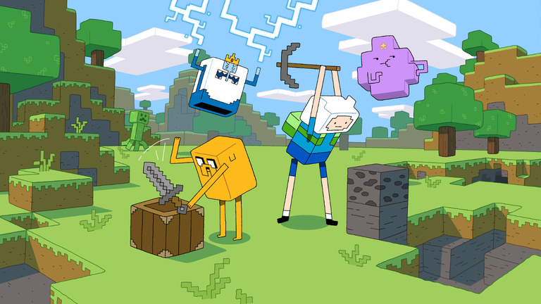 Adventure Time Minecraft Episode Minecraft