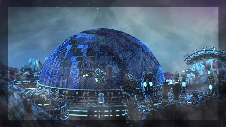 Interstellar snow globe minecraft his hermes c319 space station was an entry in planet minecrafts snow globe competition but he says that he really wanted to push the limit of the theme gumiabroncs Images