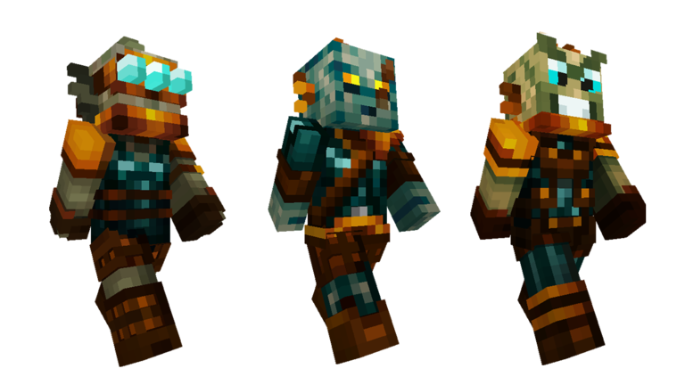 Strangers Skin Pack Out Now Minecraft - Skins para minecraft de zombies
