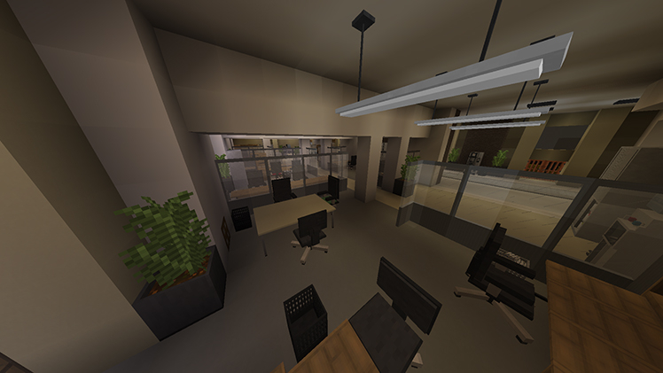 Making a horror map in minecraft minecraft for Office design minecraft