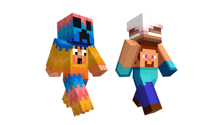 Slip On Some MINECON Skins Minecraft - Skins fur minecraft windows 10