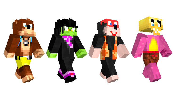 Moana And Xbox Characters Come To Minecraft Minecraft - Skins para minecraft pocket edition de halo