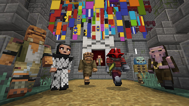 Star Wars Sequel Skin Pack Out Now Minecraft - Skin para minecraft pe rey