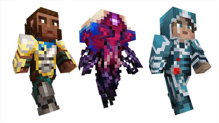 Magic The Gathering Comes To Minecraft Minecraft - Minecraft skins fur cracked minecraft