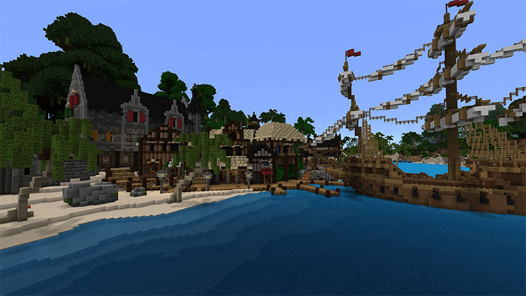 Minecraft marketplace qa minecraft imagiverses relics of the privateers map transforms minecraft into a piratical paradise gumiabroncs Gallery