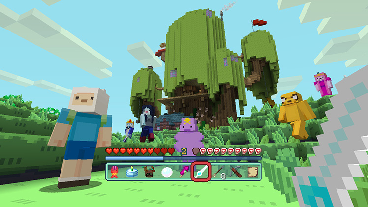 Adventure Time Comes To Minecraft Minecraft - Skin para minecraft android y pc