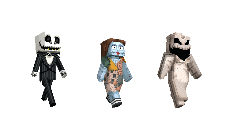 The Nightmare Before Christmas Mash Up Pack Minecraft