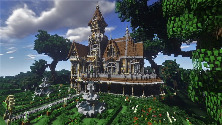 Victorian Mansion - Golden Eye - Paulzero
