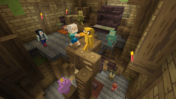 Adventure Time Comes To Minecraft Minecraft - Minecraft spielen pc download