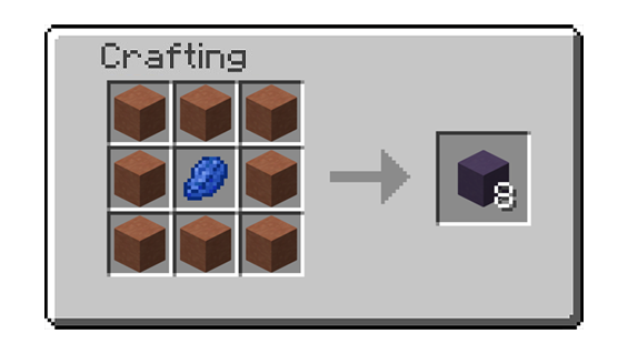Crafting Recipe For Blue Dye