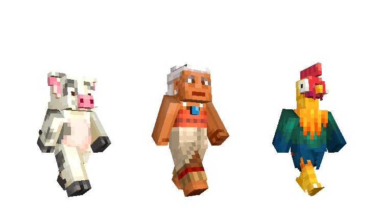 Moana And Xbox Characters Come To Minecraft Minecraft - Skins para minecraft pe king