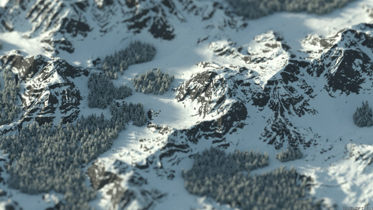 Of Snowy Peaks And Craggy Cliffs Minecraft